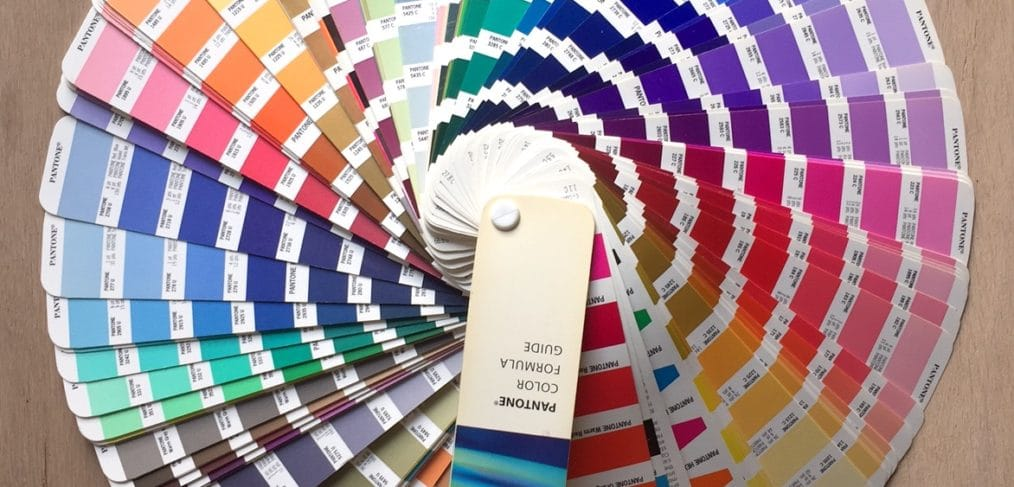 PMs colors for printing on corporate clothing