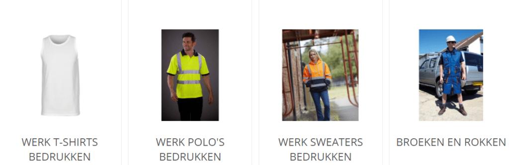bedrijfskleding bouw